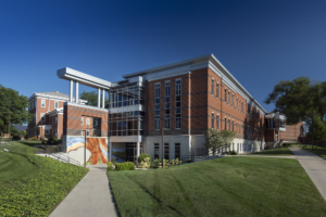 Snyder Academic Center from the South